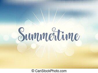 Antecedentes temáticos de verano