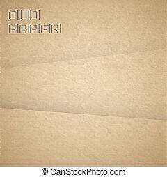Antecedentes vectores de papel viejo y marrón