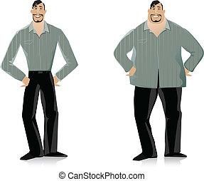 Antes y después de la dieta 2