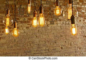 antigüedad, bombillas