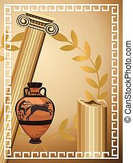 antigüedad, griego, símbolos