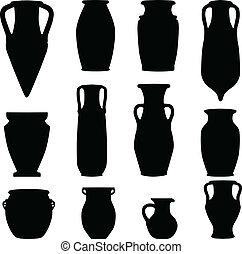 antigüedad, terracota, cerámica