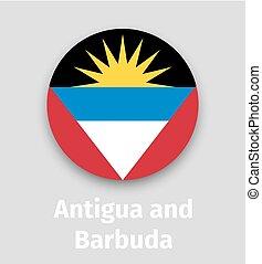Antigua y bandera de Barbuda