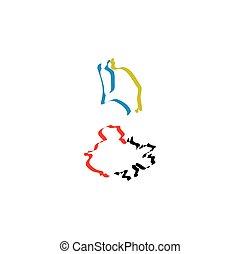 Antigua y Barbuda vector de icono