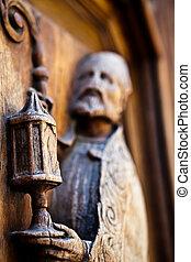 Antiguo artefacto religioso