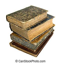 antiguo, libros