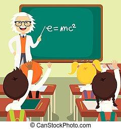 Antiguo profesor de ciencias