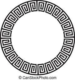 Antiguos aztecas circulares, o