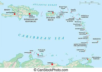 Antillas, haiti, República Dominicana
