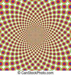 Anuncio de ilusión óptica (EPS)