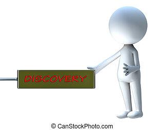 anuncio, palabra, tabla, descubrimiento