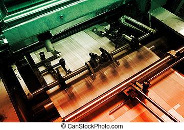 Apaga la imprenta