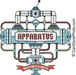 aparato, steampunk, fantástico