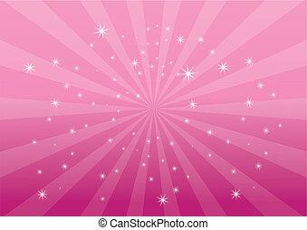 apariencia el plano de fondo, rosa, luz