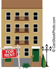 apartamento, alquiler