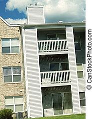 apartamento, balcón