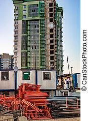 apartamento, sitio, construcción, residencial, edificio