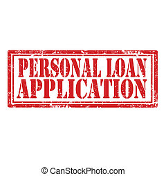 aplicación, préstamo, personal