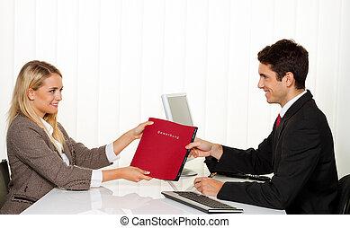 Aplicación y rendimiento. Entrevista con el gerente.