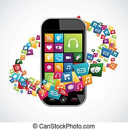 Aplicaciones móviles inteligentes