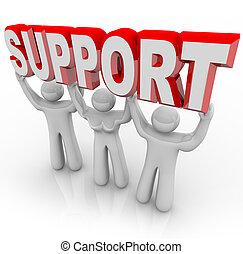 Apoya a la gente levantando tu carga en tiempos difíciles