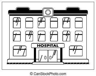 app, vector, tela, ilustración, contornos, logotipo, ui., aislado, facilidad, ambulance., hospital, médico