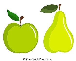appe, pera