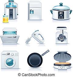 appliances., casa, vector, p.3