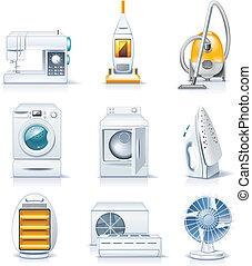 appliances., casa, vector, p.4