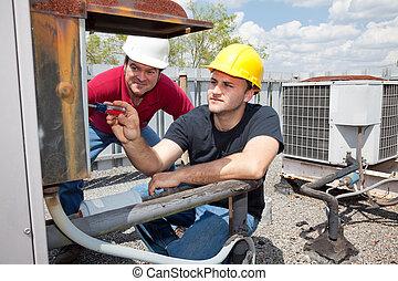 Aprendiz aire acondicionado reparador