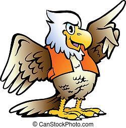 Apuntando a águila
