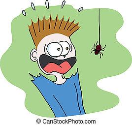 Araña aterradora