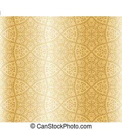 Arabesque con forma de estrella Sepia