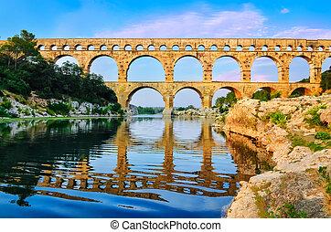 Arc du Triunfo con reflexión en el río