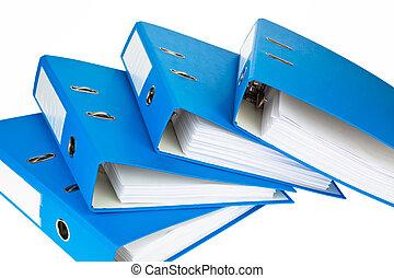 Archivo con documentos y documentos