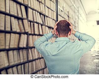 Archivo desordenado