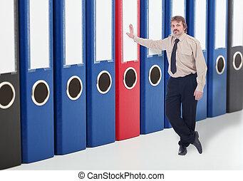Archivos de archivos de negocios - mantener un concepto seguro de datos