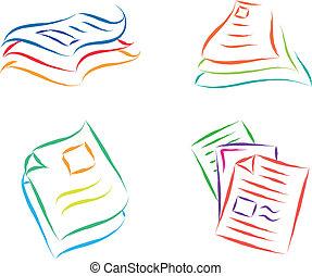 archivos, documento