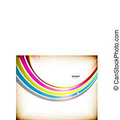 Arcoíris arremolinado colorido fondo abstracto