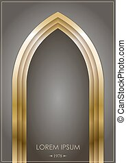 Arco árabe de oro