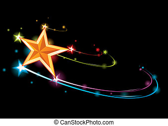 arco irirs, estrella