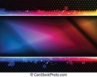 arco irirs, neón, colorido, plano de fondo, fiesta