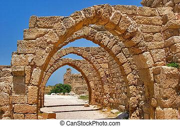 Arcos de piedra.