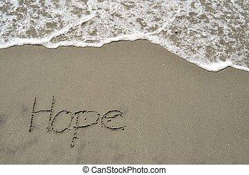 arena, esperanza