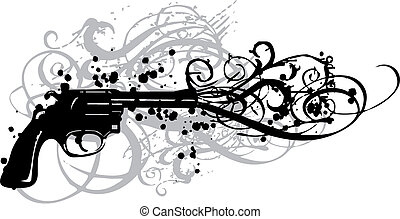 Arma de vinagre, vector