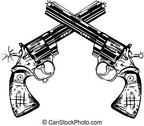 armas de fuego, mano
