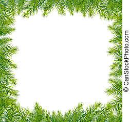armazón, verde, navidad