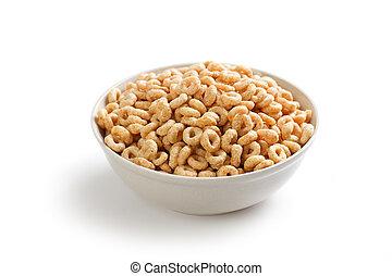 Aros de cereal saludables