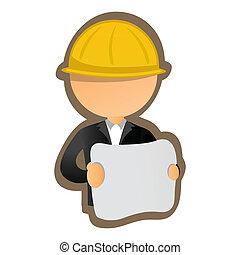 arquitecto, ilustración