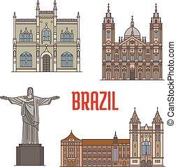 Arquitectura de atracción turística en Brasil